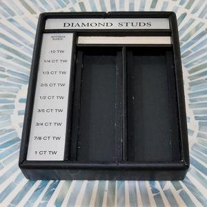 Showcase Diamond Studs Tray